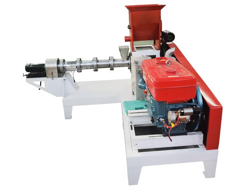 Floating Fish feed pellet machine By Diesel Engine