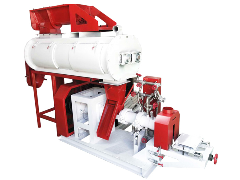 Floating Fish feed pellet machine By Wet Way
