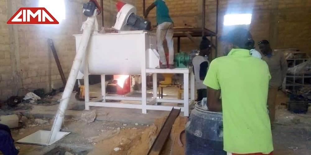 fish feed pellet making machine