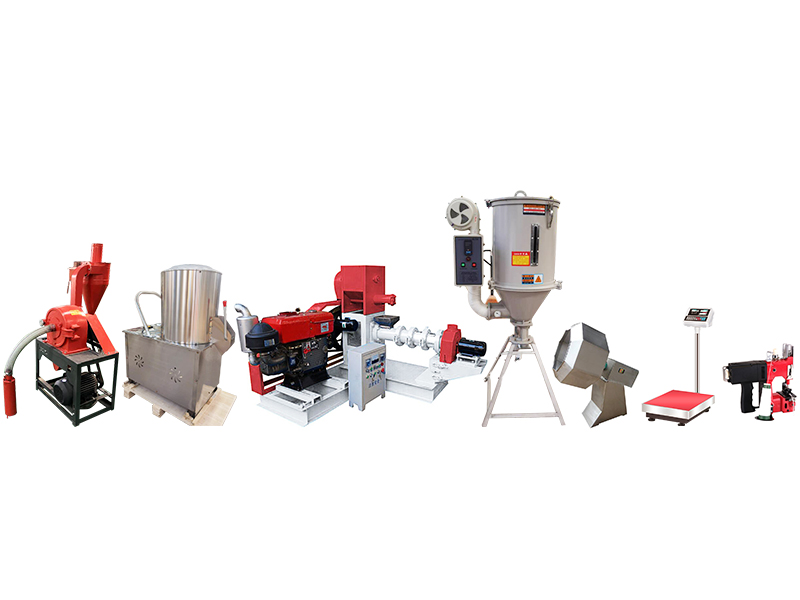 Floating Fish feed pelle small production line