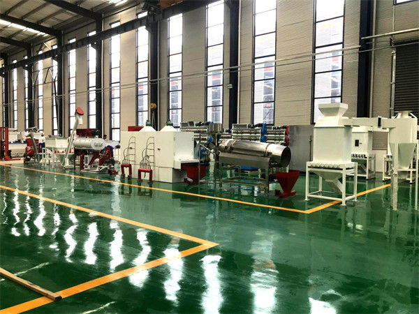 Floating Fish Feed Pellet Automatic Production Line